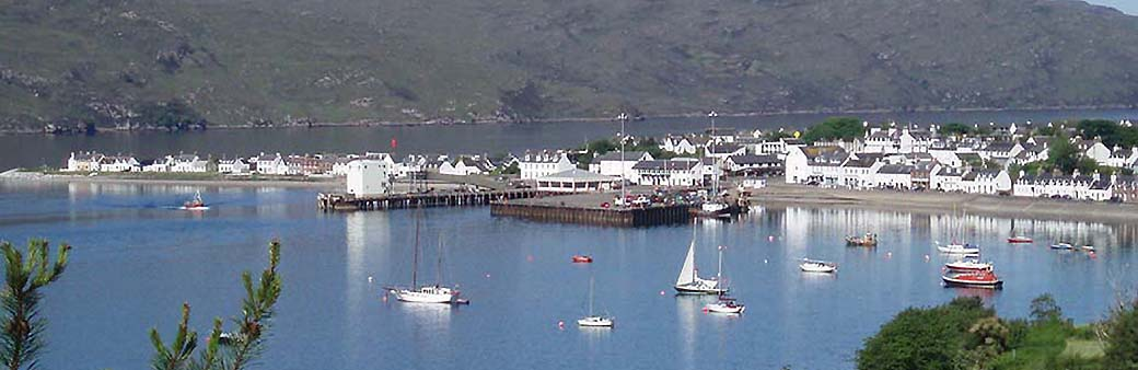 ullapool harbour banner
